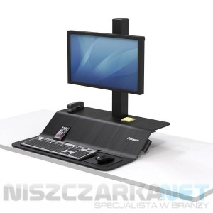 Stanowisko do pracy Sit-Stand Lotus™ VE na jeden monitor